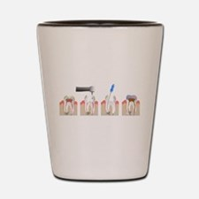 Root Canal Shot Glass