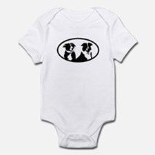 Border Collies Infant Bodysuit