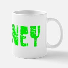 Downey Faded (Green) Mug
