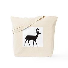 Deer Silhouette Tote Bag