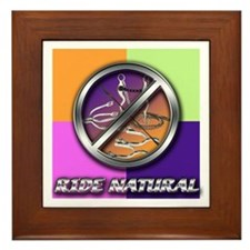 Ride Natural Framed Tile