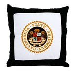 California Assembly Throw Pillow
