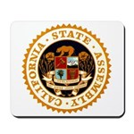 California Assembly Mousepad