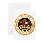 California Assembly Greeting Cards (Pk of 10)