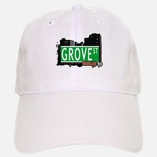 GROVE ST, BROOKLYN, NYC Baseball Baseball Cap