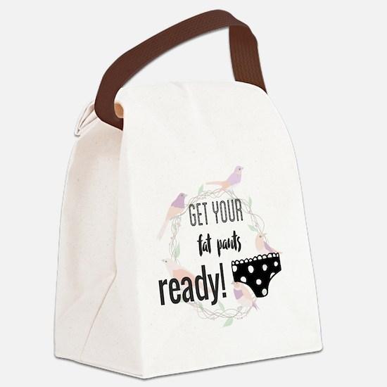 Unique Get ready Canvas Lunch Bag