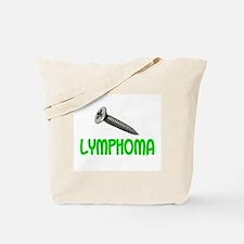 SCREW Lymphoma 2.1 (Lime) Tote Bag