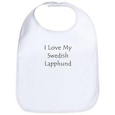 I Love My Swedish Lapphund Bib