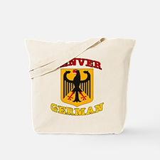 Denver German Tote Bag