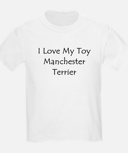 I Love My Toy Manchester Terr T-Shirt