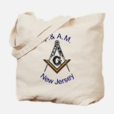 New Jersey Square and Compass Tote Bag