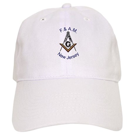 New Jersey Square and Compass Cap