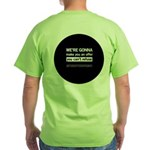 The Knitting Mafia: Offer Green T-Shirt