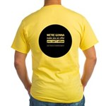 The Knitting Mafia: Offer Yellow T-Shirt