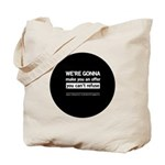 The Knitting Mafia: Offer Tote Bag