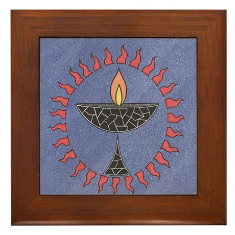 Chalice Framed Tile