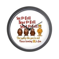 Party 76th Wall Clock
