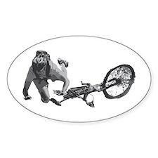 Mountain Bike Endo Oval Decal