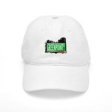 GREENPOINT AV, BROOKLYN, NYC Baseball Cap