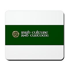 Irish Culture & Customs Mousepad