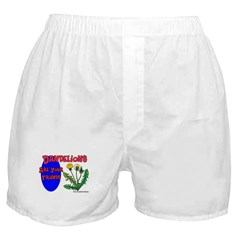 Dandelions Are Your Friends Boxer Shorts