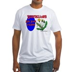 Dandelions Are Your Friends Fitted T-Shirt