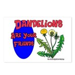 Dandelions Are Your Friends Postcards (Package of