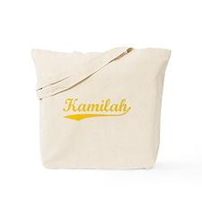 Vintage Kamilah (Orange) Tote Bag
