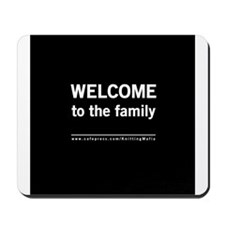 The Knitting Mafia: Family Mousepad