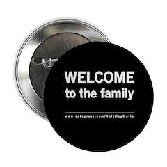 The Knitting Mafia: Family Button