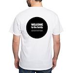 The Knitting Mafia: Family White T-Shirt