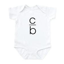"""C Over B"" Infant Bodysuit"