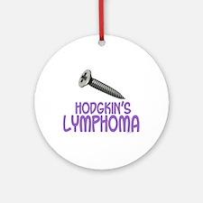 SCREW Hodgkin's Lymphoma 2.1 Ornament (Round)