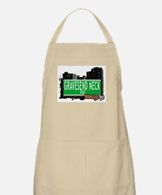 GRAVESEND NECK ROAD, BROOKLYN, NYC BBQ Apron