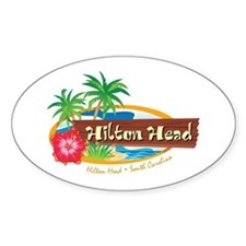Hilton Head Classic - Oval Decal