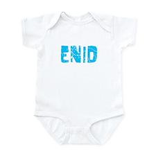 Enid Faded (Blue) Infant Bodysuit