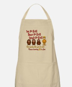 Party 70th BBQ Apron