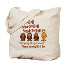Party 70th Tote Bag