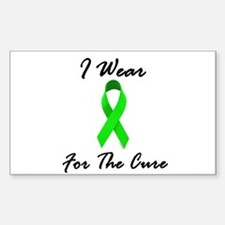 I Wear Lime Green For The Cure 1 Decal