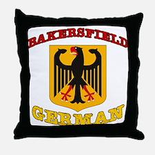 Bakersfield German Throw Pillow