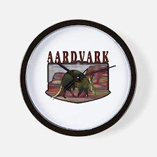 Aardvark mesa Wall Clock