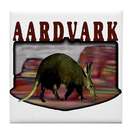 Aardvark mesa Tile Coaster
