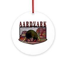 Aardvark mesa Ornament (Round)