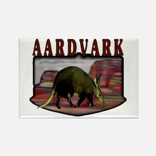 Aardvark mesa Rectangle Magnet