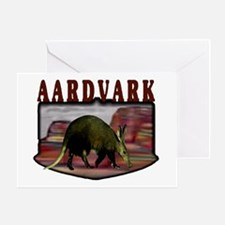 Aardvark mesa Greeting Card