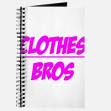 """""""Clothes Over Bros (Pink)"""" Journal"""