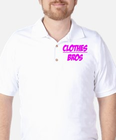 """""""Clothes Over Bros (Pink)"""" T-Shirt"""