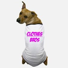 """Clothes Over Bros (Pink)"" Dog T-Shirt"