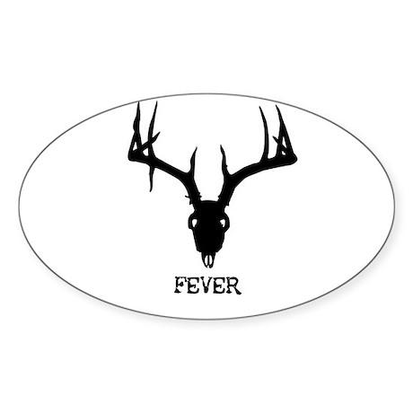 Fever Oval Sticker