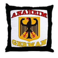 Anaheim German Throw Pillow
